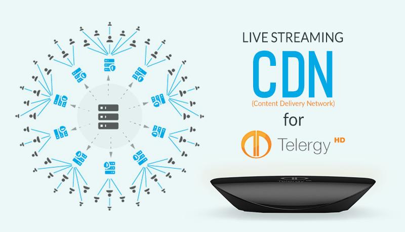 Live Streaming CDN for TelergyHD